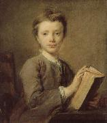 PERRONNEAU, Jean-Baptiste A Boy with a Book oil painting picture wholesale
