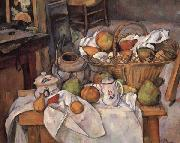 Paul Cezanne Still Life with Ginger Pot oil painting picture wholesale