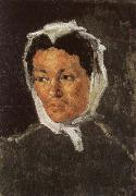 Paul Cezanne Portrait de Louis-Auguste Cezanne lisant L Evenement oil painting picture wholesale