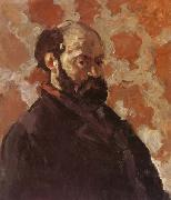 Paul Cezanne Self-Portrait on Rose Background oil painting picture wholesale