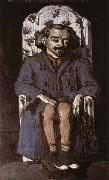 Paul Cezanne Portrait of Achille Emperaire oil painting picture wholesale