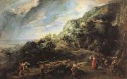 Peter Paul Rubens Ulysses on the Island of the Phaeacians oil painting picture wholesale