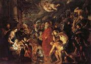 Peter Paul Rubens The Adoration of the Magi 1608 and 1628-1629 oil painting picture wholesale