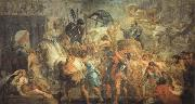 Peter Paul Rubens The Triumphal Entrance of Henry IV into Paris oil painting picture wholesale