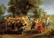 Peter Paul Rubens A Peasant Dance oil painting picture wholesale