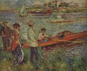 Pierre Renoir Boating Party at Chatou oil painting picture wholesale
