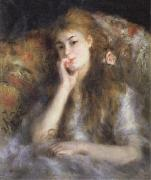 Pierre Renoir Young Woman Seated(The Thought) oil painting picture wholesale