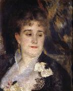 Pierre Renoir First Portrait of Madame Georges Charpentier oil painting picture wholesale