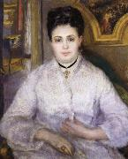Pierre Renoir Madame Victor Chocquet oil painting picture wholesale