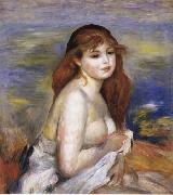 Pierre Renoir After the Bath(Little Bather) oil painting picture wholesale