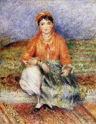 Pierre Renoir Algerian Girl oil painting picture wholesale