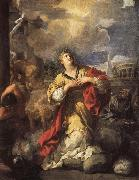Pietro da Cortona St.Martina Refusing to Worship Idols oil painting picture wholesale