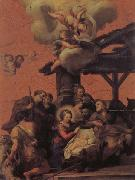 Pietro da Cortona The Nativity and the Adoration of the Shepherds oil painting picture wholesale