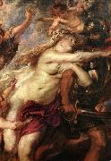 RUBENS, Pieter Pauwel The Consequences of War (detail) oil painting picture wholesale
