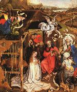 Robert Campin The Nativity oil painting picture wholesale