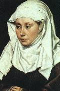 Robert Campin Portrait of a Lady oil painting picture wholesale