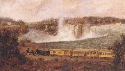 Robert Whale The Canada Southern Railway at Niagara oil painting picture wholesale