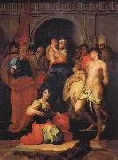 Rosso Fiorentino Madonna Enthrouned with Ten Saints oil painting picture wholesale