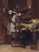 Samuel Butler Mr Heatherley's Holiday:an Incident in Studio Life oil painting picture wholesale