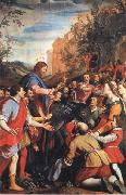 Santi Di Tito Christ's Entrane into Jerusalem oil painting picture wholesale