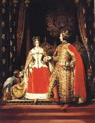 Sir Edwin Landseer Queen Victoria and Prince Albert at the Bal Costume of 12 may 1842 oil