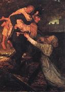 Sir John Everett Millais The Rescue oil painting picture wholesale