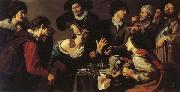 Theodoor Rombouts The Tooth-puller oil painting artist