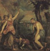 Titian Religion Supported by Spain Sweden oil painting artist