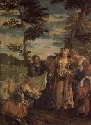 VERONESE (Paolo Caliari) Moses Saved from the Waters of the Nile oil painting picture wholesale