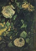 Vincent Van Gogh Roses and Beetle (nn04) Sweden oil painting artist