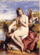 Willam mulready,R.A. Bathers Surprised oil painting picture wholesale