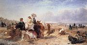 William Havell Weston Sands in 1864 oil painting artist