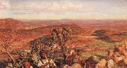 William Holman Hunt The Plain of Esdraelon from the Heights above Nazareth oil painting picture wholesale
