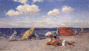 William Merrit Chase At the Seaside oil painting picture wholesale