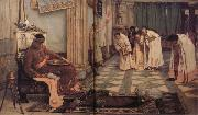 John William Waterhouse The Favourites of the Emperor Honorius oil painting picture wholesale