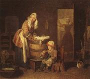 jean-Baptiste-Simeon Chardin The Washerwoman oil painting picture wholesale