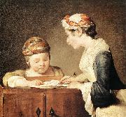 jean-Baptiste-Simeon Chardin The Young Schoolmistress oil painting picture wholesale