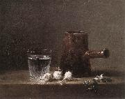 jean-Baptiste-Simeon Chardin Water Glass and Jug oil painting picture wholesale