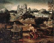 unknow artist Saint jerome in penitence oil painting picture wholesale