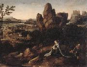 unknow artist A landscape with the rest on the Flight into egypt oil painting picture wholesale