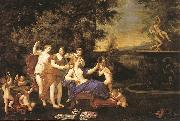 Albani  Francesco Venus Attended by Nymphs and Cupids oil painting artist
