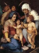 Andrea del Sarto,Andrea d Agnolo di Francesco dit Sainte Famille aux Anges oil painting picture wholesale