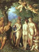 BALEN, Hendrick van The Judgement of Paris oil