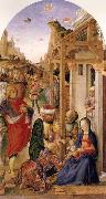 BASTIANI, Lazzaro The Adoration of the magi oil