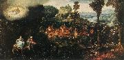 BLES, Herri met de The Flight into Egypt oil