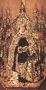 Bartolome Bermejo St Dominic Enthroned in Glory oil