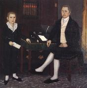Brewster john James Prince and Son William Henry oil painting artist