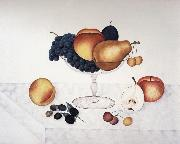 Cady Emma Jane Fruit in a Glass Compote oil painting artist