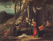 Correggio Modonna and Child with Saint Elizabeth and the Young Saint John oil painting picture wholesale