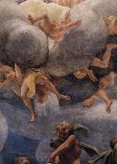 Correggio Assumption of the Virgin,details with Eve,angels,and putti oil painting picture wholesale